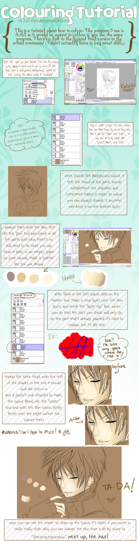 Colouring Tutorial Part 1 by joiachi