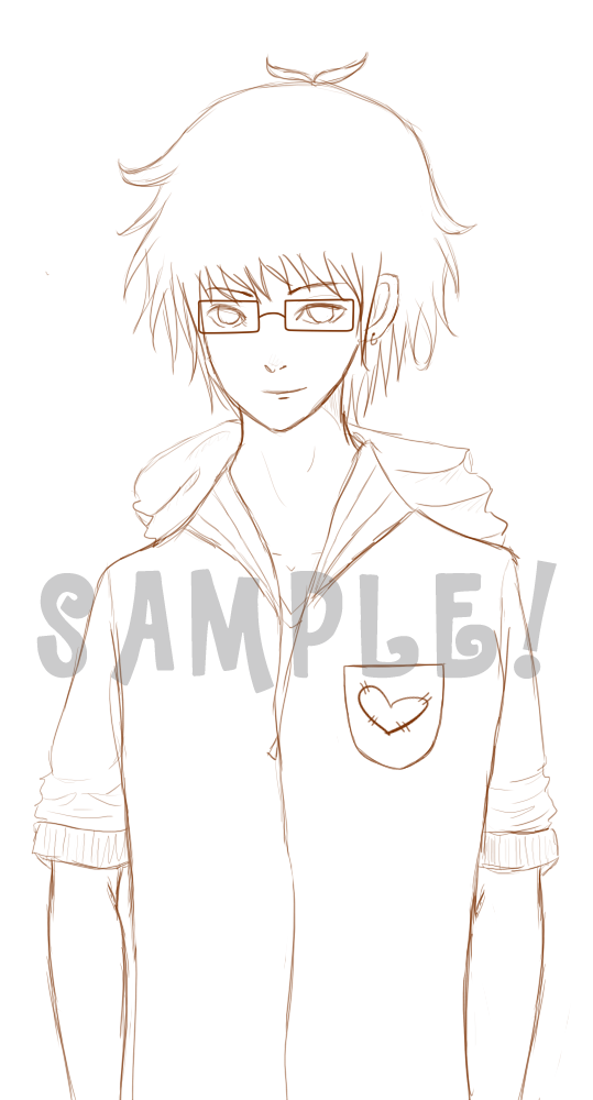 SAMPLE: Character Sketch by joiachi
