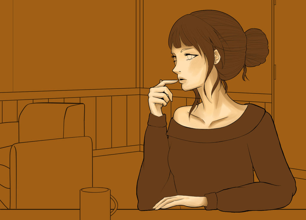 WIP - Coffeeshop by joiachi