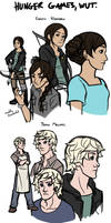 The Hunger Games sketches