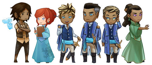 Stormlight Archive Chibis