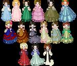 Victorian Eveningwear