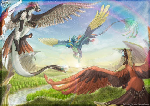 Commission Speedpainting - Let's Play Catch