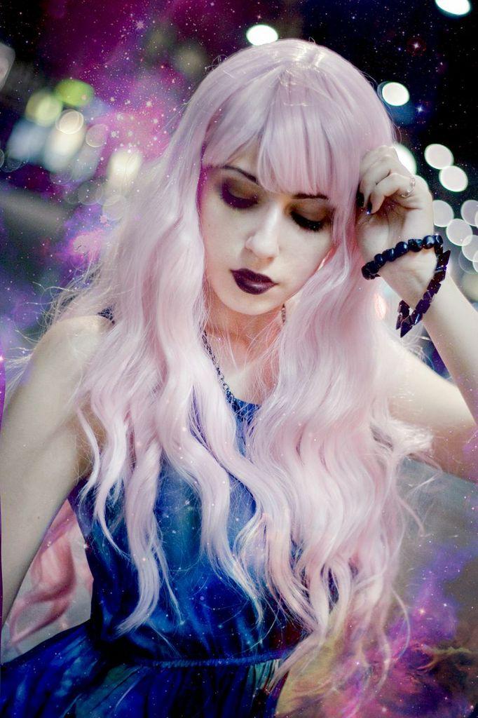 Pastel Goth Galaxy by RahLuna
