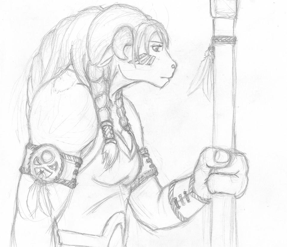 Tauren druid part 2 :D by Jon-Boi