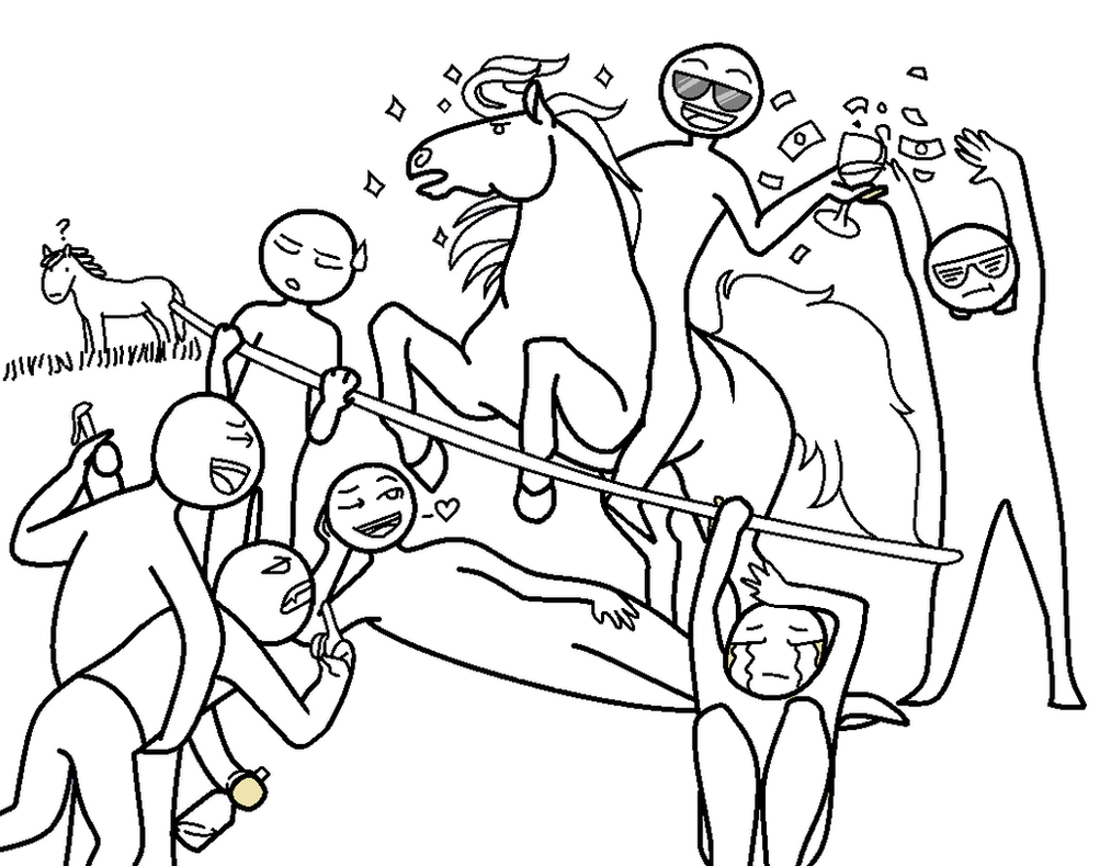 My Weird School Coloring Page