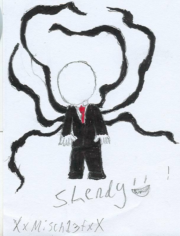 Slendy doodle by XxMisch13fxX