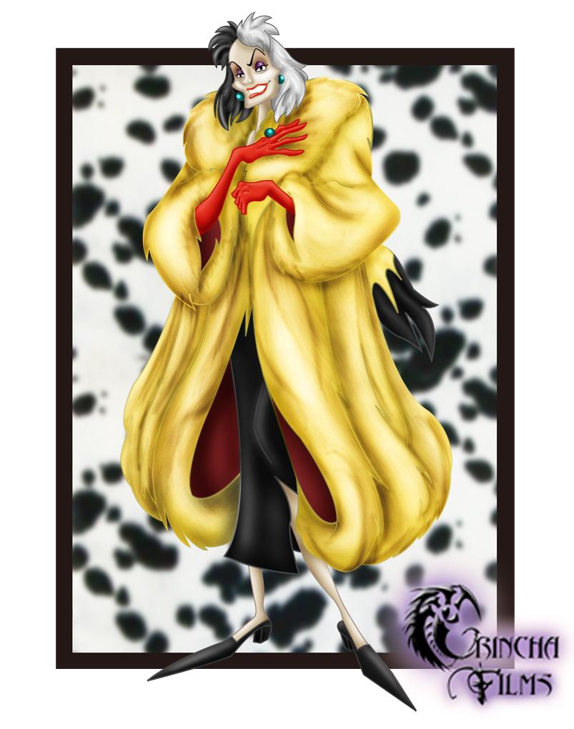 Disney Villains: Cruella DeVil by Grincha