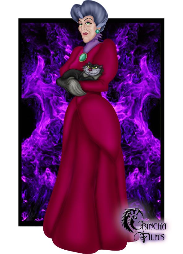 Disney Villains: Lady Tremaine by Grincha
