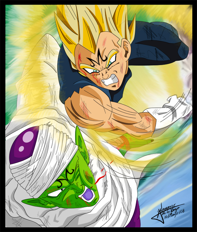 majin vegeta mobile wallpaper