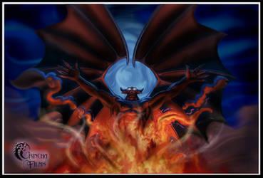 Disney Villains: CHERNABOG by Grincha