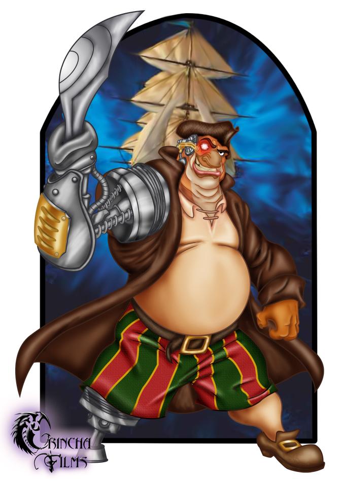Disney Villains: John Silver by Grincha