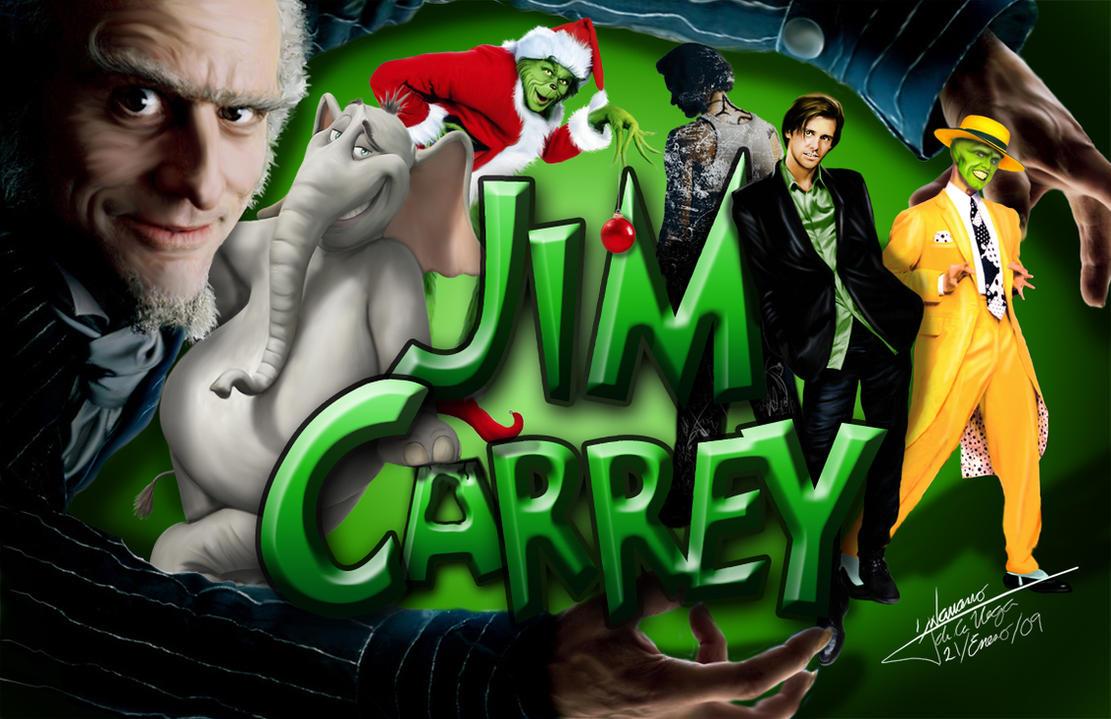 Jim Carrey GIFT By Grincha