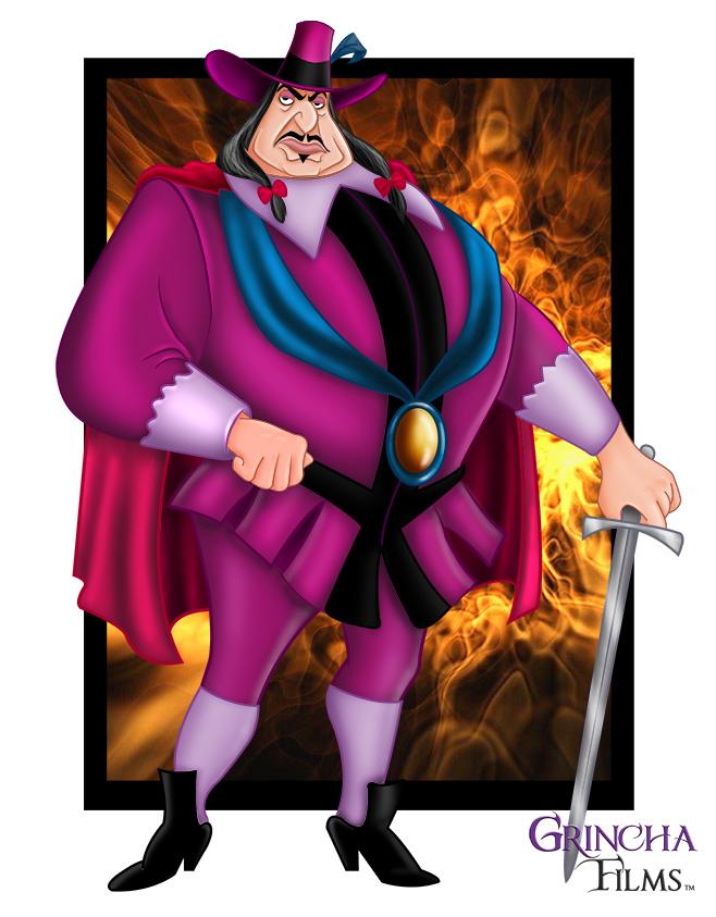 Disney Villains: Governor Ratcliffe by Grincha