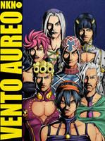Jojo's Vento Aureo / Watchmen by Nikunja
