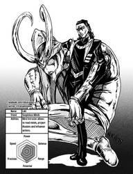 Loki and stand by Nikunja
