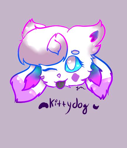 Kittydoggo by IdinaArt