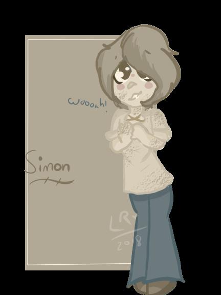 Simon by IdinaArt