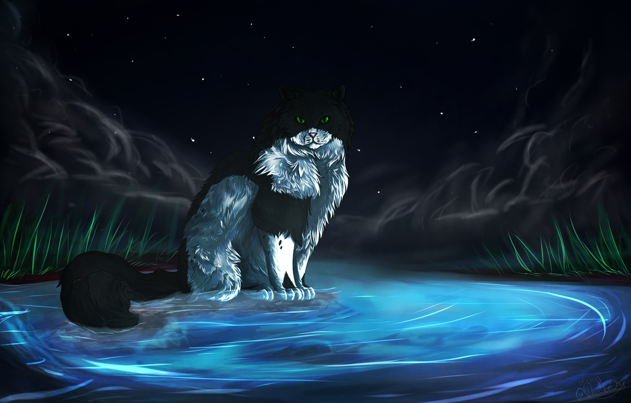 Eeltongue-Warrior of Riverclan! (Request) by wonderblue