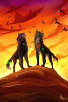 The Wolf King by lauraacan