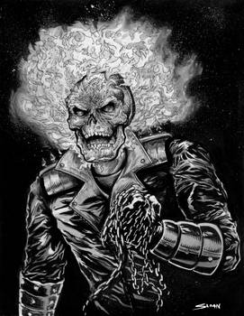Ghost Rider commission
