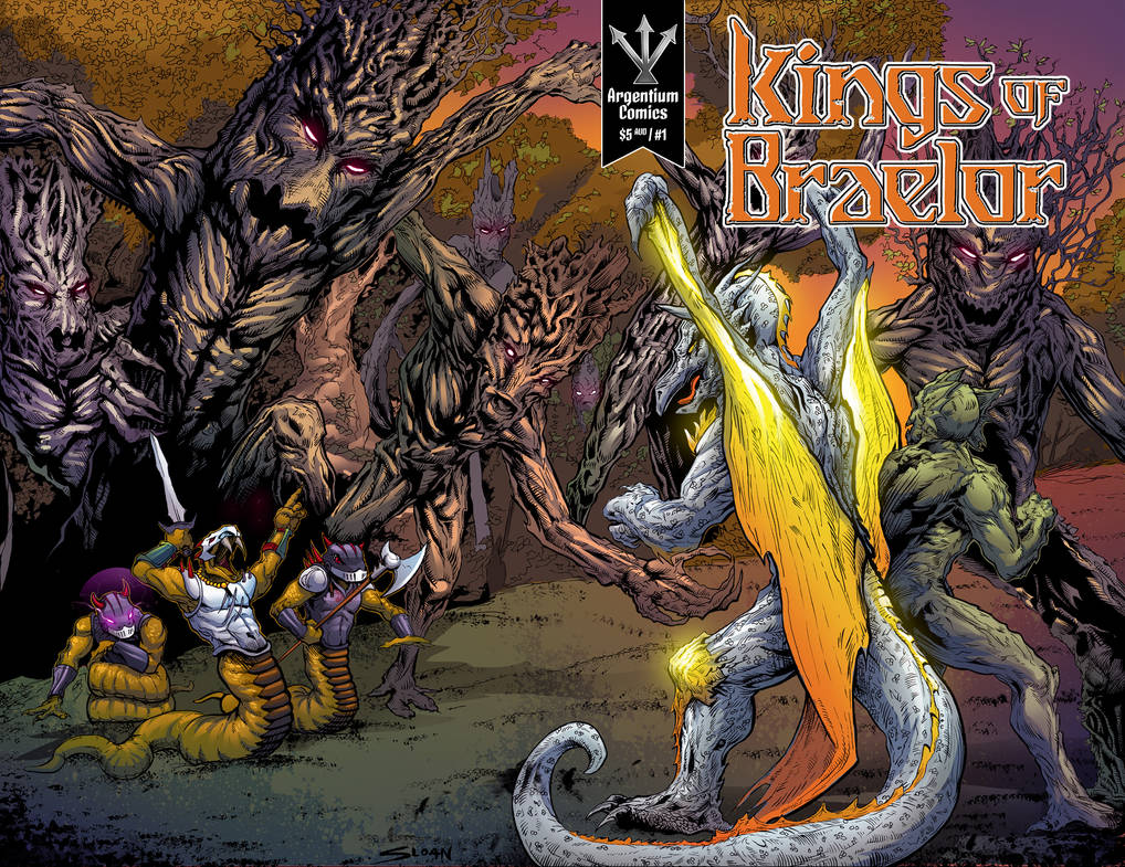 Kings of Braelor #1 cover art