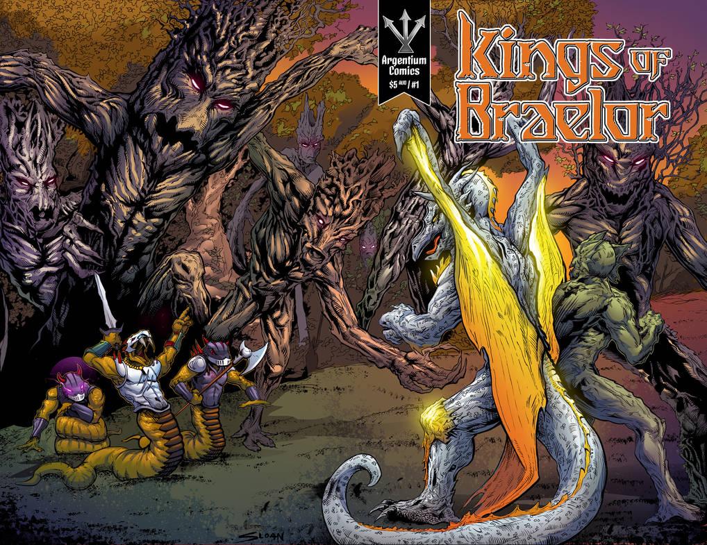 Kings of Braelor #1 cover art