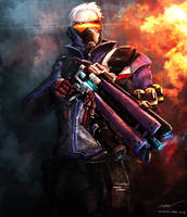 Soldier 76 by Nocluse