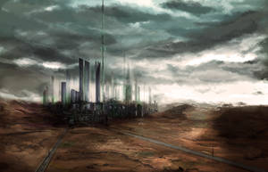 Proxima B - City 408 by Nocluse