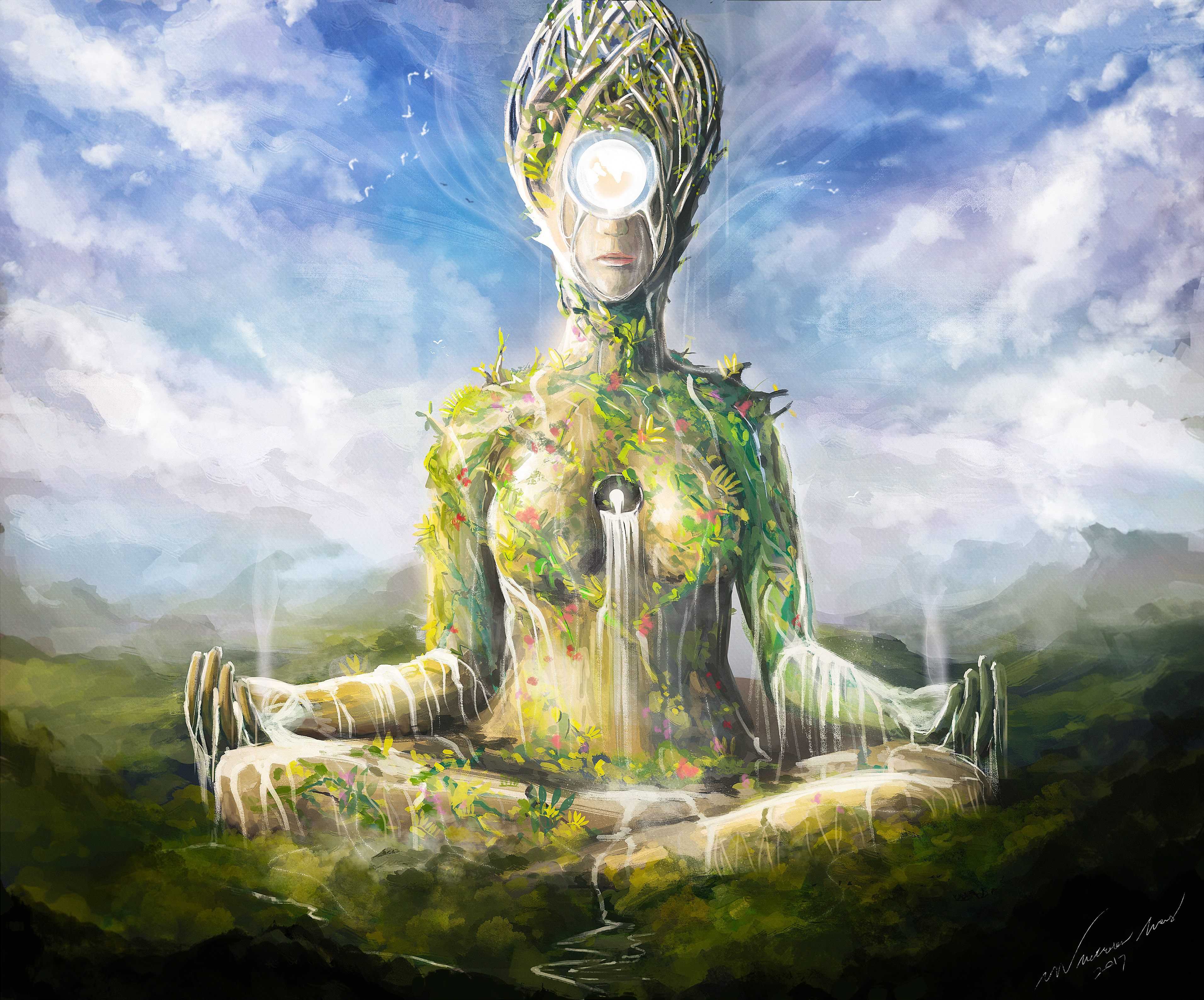 mother nature by nocluse on deviantart