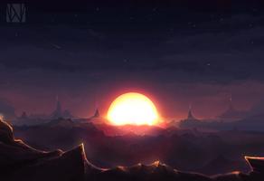 Sundown by Nocluse