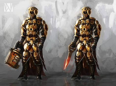 Lock and Key Warriors