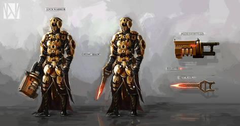Lock Warrior Character Sheet
