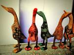 duck sculpture by MarissaCha