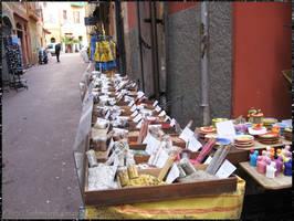 Spice stall in Nice, France by NekoMarik