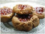 Mocha Thumbprint Cookies 1