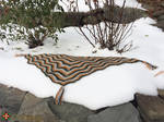 Cordillera Shawlette - Knit version
