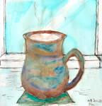 Ceramic Mug - colour study