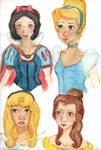 Disney Princess practice