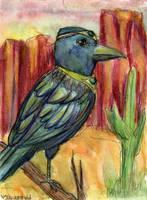 Wise Crow by NekoMarik