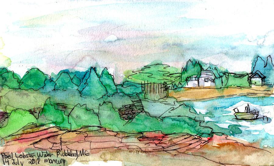 View from Pool Lobster - Biddeford, Maine - WWM 14 by NekoMarik