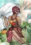 Lady in the Rain - WWM Day 23