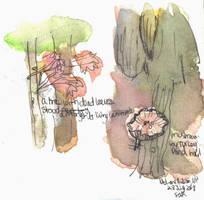 Dead Leaves and a Mushroom - WWM Day 28 by NekoMarik