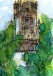 Church Tower in Antwerp - WWM 31