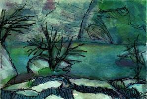 Fontaine de Vaucluse on 16March2014 - WWM Day 31 by NekoMarik