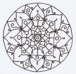 Mandala Lineart