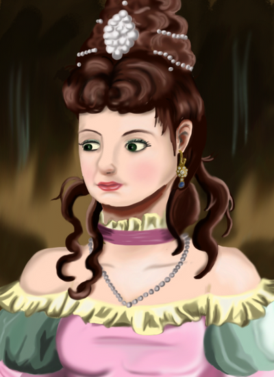 Lady Portrait by ThIsAnGeLhAsNoWiNgS