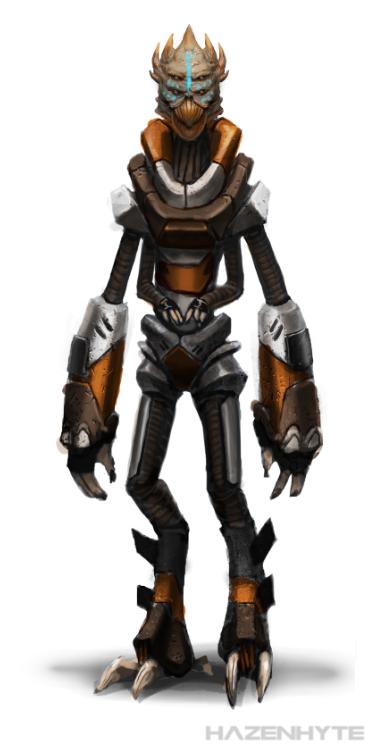 New Mass Effect Species by HAZENHYTE
