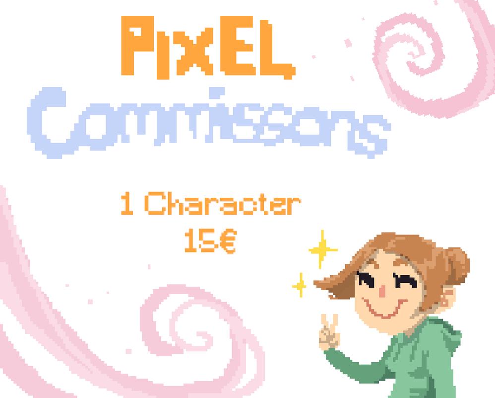 Pixel Art Commission by HAZENHYTE