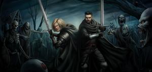 Sylus and Rainn [Commission]